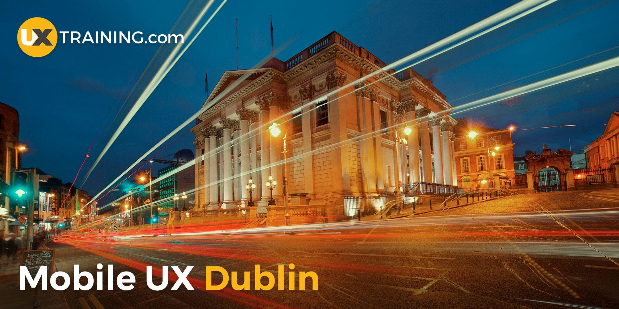 Mobile UX Training  Dublin  June 2018
