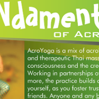 FUNdamentals of Acroyoga Spring Edition (3 Hr Class)