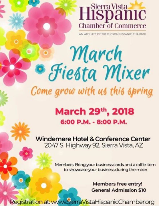 Svhcc march fiesta mixer at windemere hotel sierra vista svhcc march fiesta mixer reheart Image collections