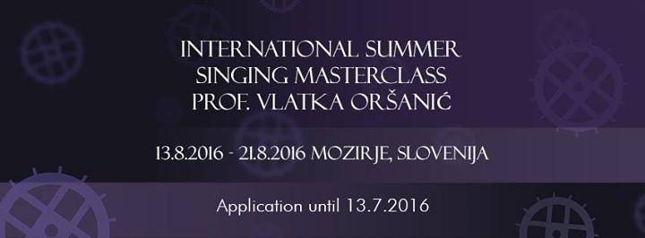 PoletniI pevski seminar prof. Vlatke Orani - ISSM 2016