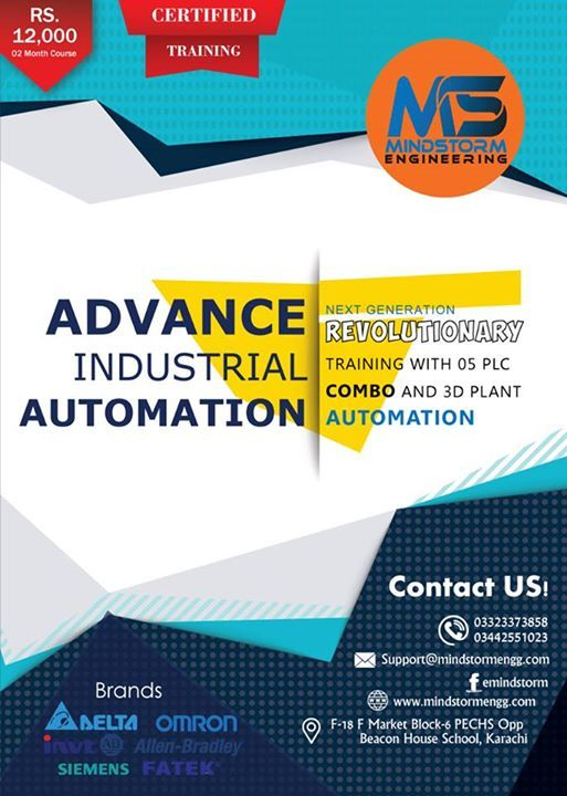 Advance Industrial Automation and Control Systems Training
