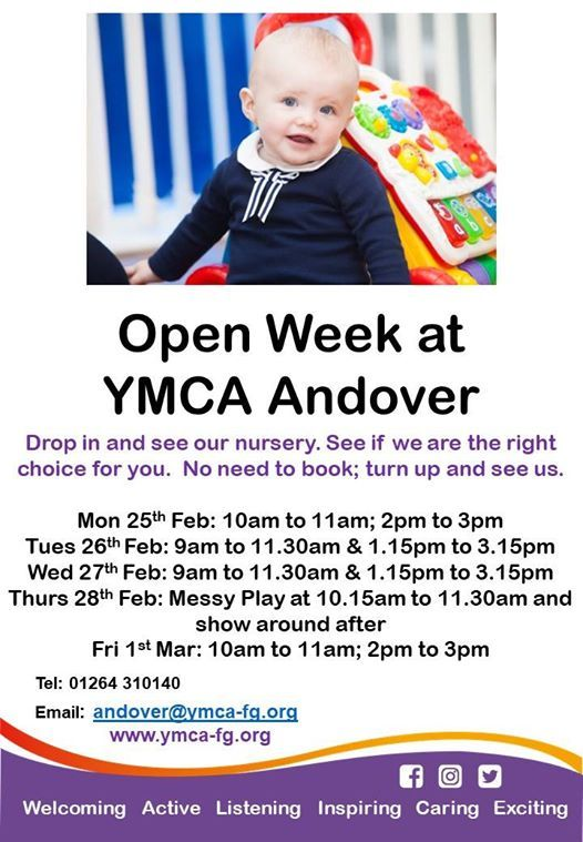 Open Week at YMCA Andover