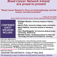 Blood cancer research Focus on immunotherapy &amp the tumour microenviromen