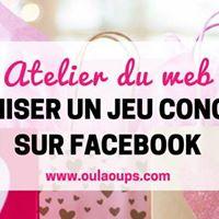 Atelier organiser un jeu concours sur Facebook