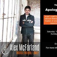 Alex McFarland Apologetics Conference