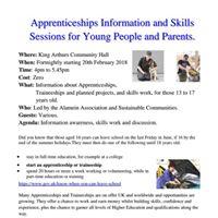 Apprenticeships Information and Skills Workshops