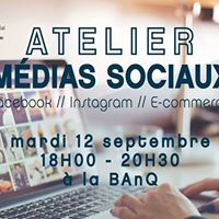 Atelier Medias Sociaux