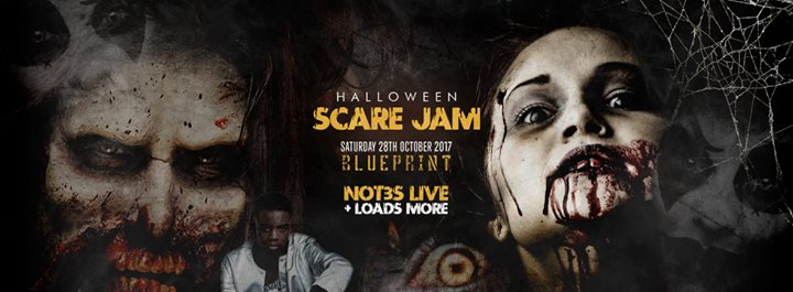 Halloween scare jam not3s live at blueprint leicester leicester malvernweather Image collections