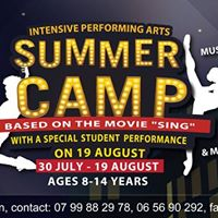 NCCA Intensive Performing Arts Summer Camp 2017