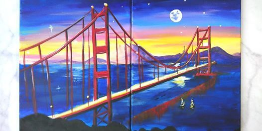 Sip Paint Date Night For Couple Bff Family San Francisco Bay