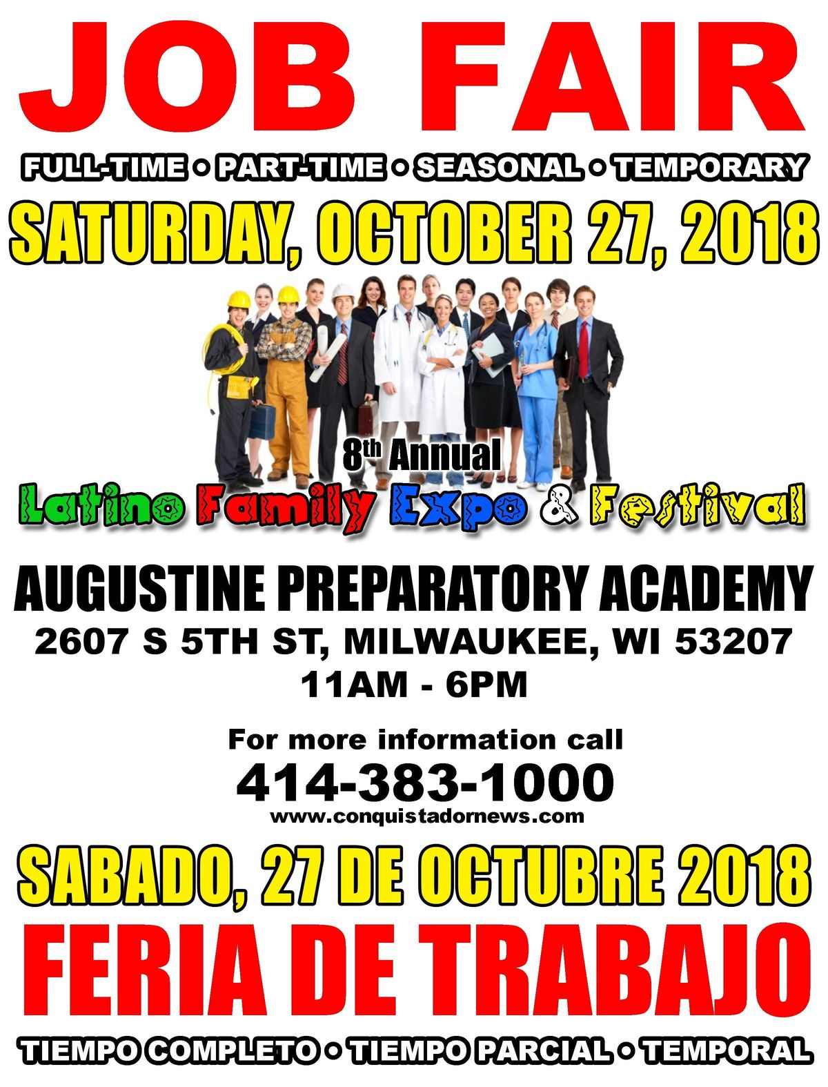 Job Fair At Augustine Preparatory Academy Milwaukee