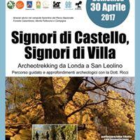 Archeotrekking da Londa a San Leolino