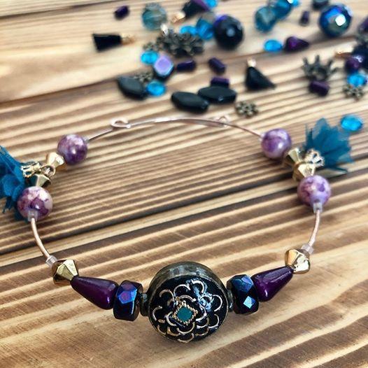 Memory Wire Beaded Bracelet 15 Make Take At Craft Warehouse