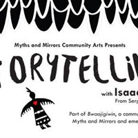 Storytelling with Isaac Murdoch Presented by Myths and Mirrors