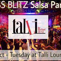 DSS BLITZ Salsa Party 3-Oct