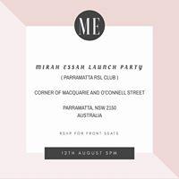 MIRAH ESSAH LAUNCH PARTY