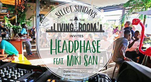 Select Sundays in The Living Room Invites Headphase