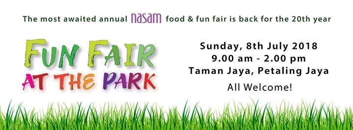 NASAMs Fun Fair at the Park