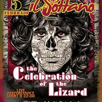 THE CELEBRATION OF THE LIZARD  DOORS TRIBUTE BAND IL SOTTANO  VEN. 5 FBR.