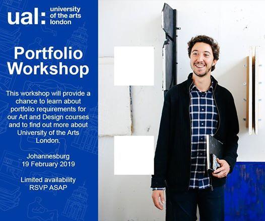 UAL Portfolio Workshop - Johannesburg