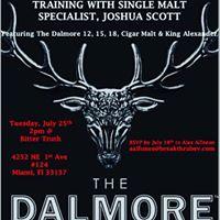 The Dalmore Scotch Whisky Training