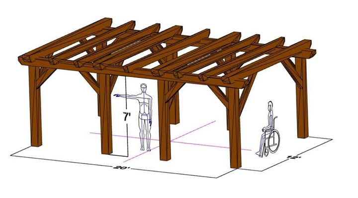 Timber Frame Pergola Workshop at KVCC Kennebec Valley Community ...