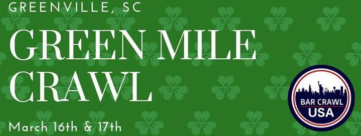 Green Mile Crawl Greenville