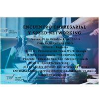 Encuentro EmpresarialConferencia y Speed Networking en Alzira