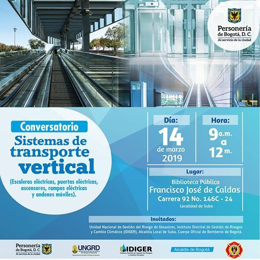 Conversatorio Sobre Sistemas De Transporte Vertical