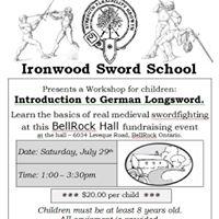 Intro to German Longsword for Children