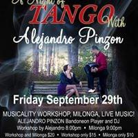 A Night of Tango with Alejandro Pinzon
