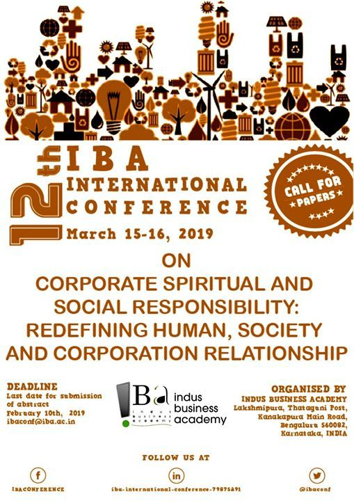 12th International Conference