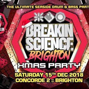 This Sat  Breakin Science Brighton  Xmas Party