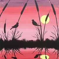 Lakeside Lovebirds