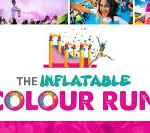 Inflatable Colour Run-Tramore Waterford