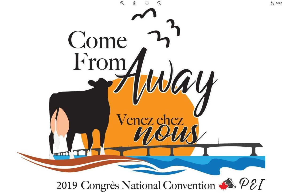 2019 Congrs National Holstein Convention