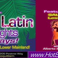 Salsa &amp Latin Dance Night at Evergreen  Salsa Lesson