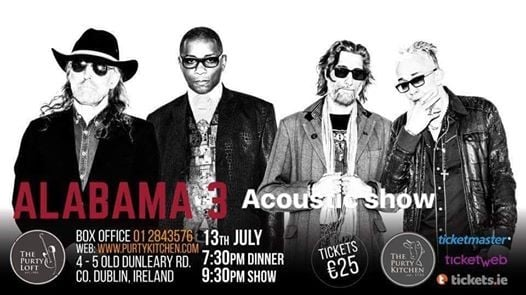 Alabama 3 - Acoustic show (Live)  support from The Animal Gang