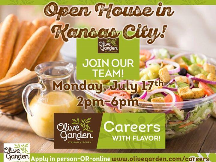 Hiring Open House in Kansas City at Olive Garden Kansas City