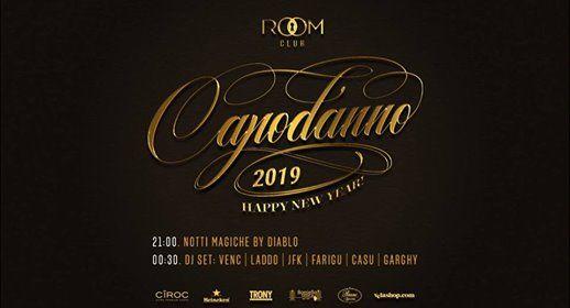 Capodanno 2019 Room Club - Gala Dinner & Party