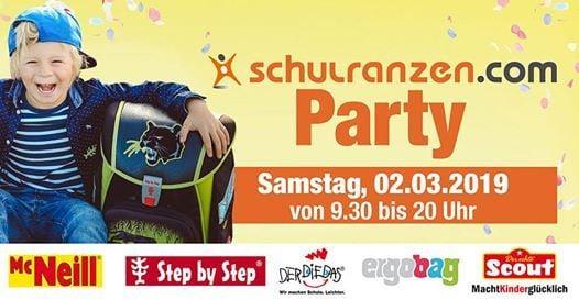 schulranzen.com PARTY