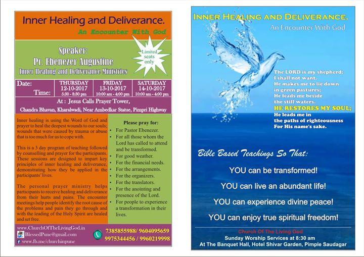Inner Healing and Deliverance at Jesus Calls, Kharalwadi