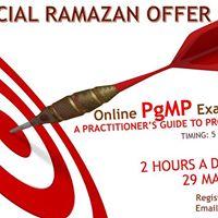 Online PgMP Exam Prep (29 May-17 Jun 2017) 5pm-7pm daily