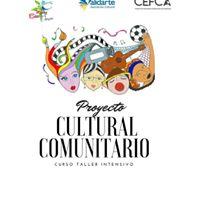 Curso Taller Proyecto Cultural Comunitario