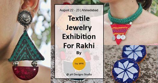 Textile Jewelry Exhibition for Rakhi