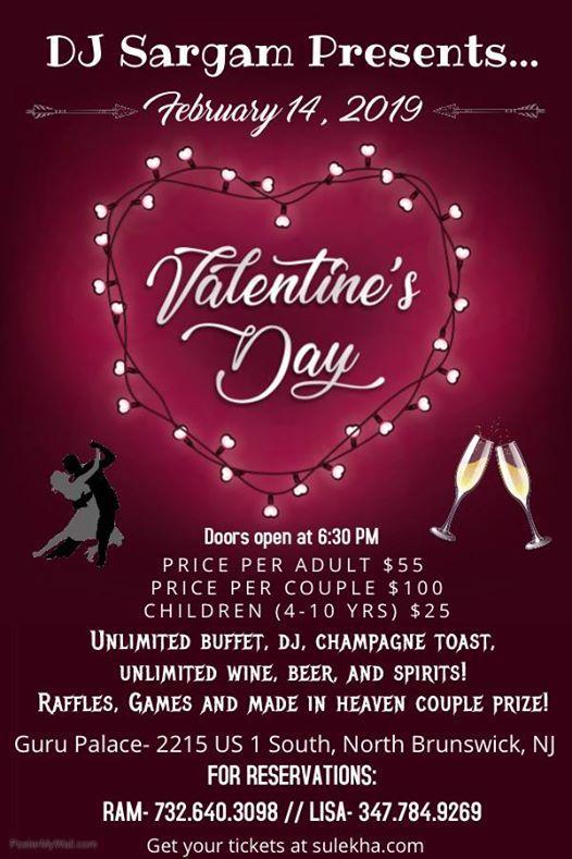 DJ Sargam presents: Valentines Day Bash! at Guru Palace