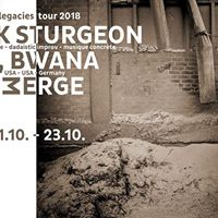 Crank Sturgeon  If Bwana  Emerge - unknown legacies tour 2018