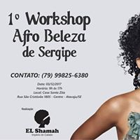 1 Workshop Afro Beleza de Sergipe