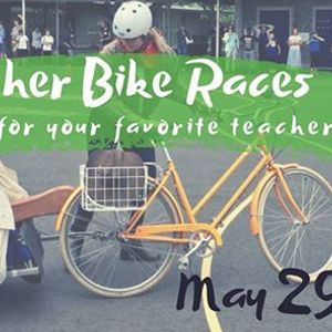 Annual Teacher Bike RacePopsicle Sale
