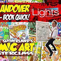 Comic Art Masterclass in Andover
